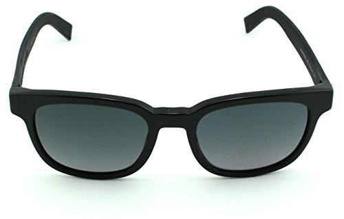 Dior Black Tie 183/S Square Unisex Sunglasses (Black Frame, Grey Gradient Lens (0LUH))