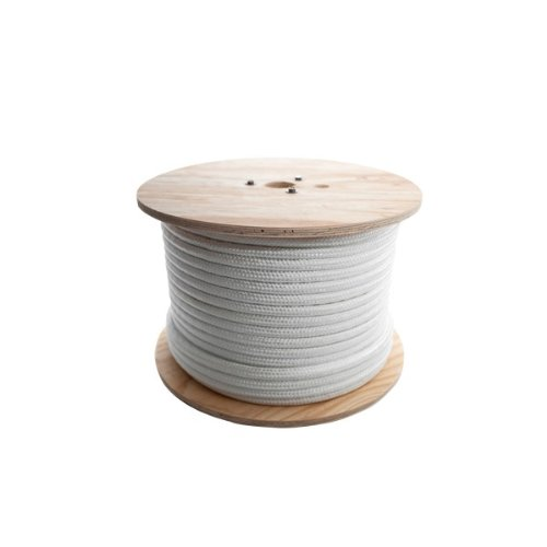 - Bevis Rope - DBLN12600RBV - Professional-Duty Double Braided Nylon Rope, Professional-Duty Double Braided Rope, 3/8 x 600'
