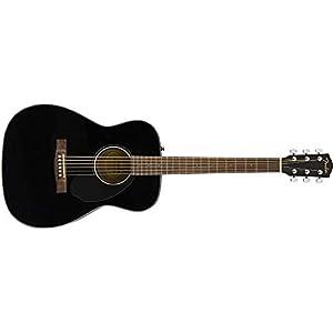 Fender CC-60S Classic Concert – Walnut Fingerboard – Black