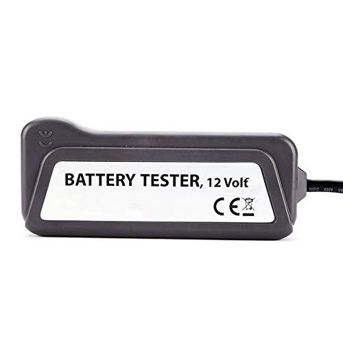 Panamami QX3012 Portable 12 Volts LED Num/érique Batterie//Alternateur Testeur Batterie de Voiture avec Pinces et indicateurs de lumi/ère