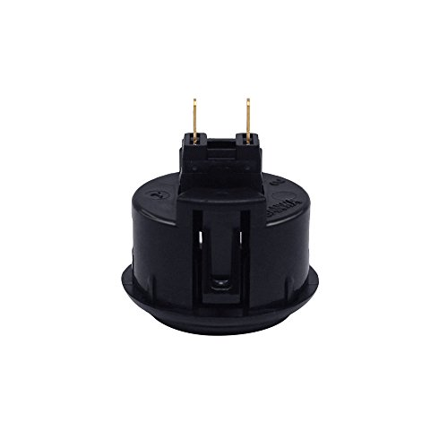 6Pcs 30mm Arcade Push Buttons Black for Sanwa OBSF-30 Jamma Games Parts Games Buttons Arcade Push Button Joystick Video Game Console by YUNDA (Image #4)