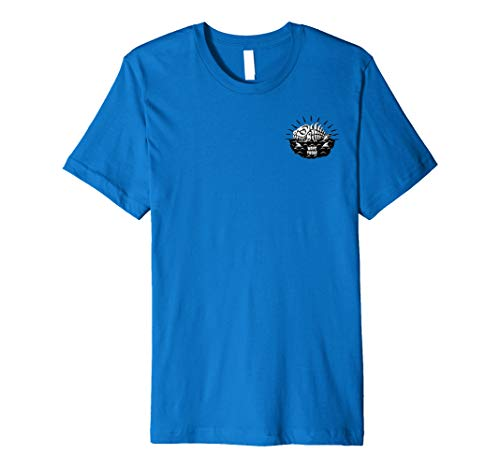 (Salty Dogs - Front and Back Printed T Shirt)