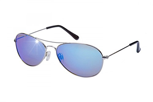 Eagle Eyes Celebrity Aviator Sunglasses -Small Polarized Mirrored - Eagle Sunglasses Nasa Eye