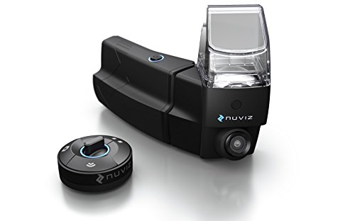 - NUVIZ - Motorcycle Head-Up Display with integrated navigation, communication, camera and music