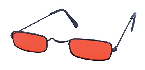 Red Adults Dracula Sunglasses - Sunglasses Vampire