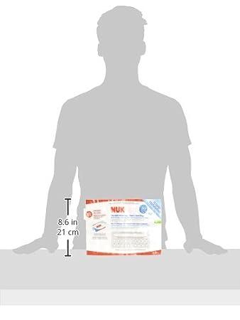 Amazon.com: NUK Microondas vapor reutilizable bolsas limpias ...