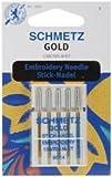 Schmetz Machine Embroidery Needle Gold Size 90/14