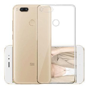 sale retailer 240f8 5a1b6 Baseus Mi A1 Back Cover Ultra Thin Soft Clear Back: Amazon.in ...
