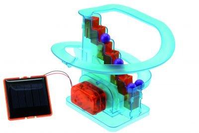 Solar-Kugelbahn Bausatz und Lernspielzeug K81018 Bausatz für Kinder und Jugendliche