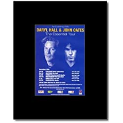 HALL AND OATES - Essential Tour 2001 Mini Poster - 13.5x10cm