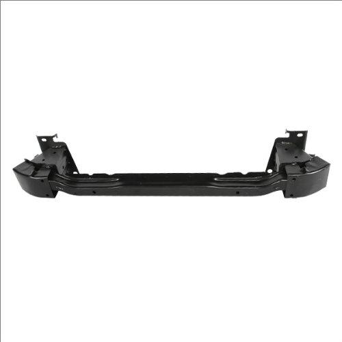 CarPartsDepot, Front Bumper Reinforcement Primed Steel Impact Bar Rebar Black Assembly, 348-44289-10 TO1006166 5202135020