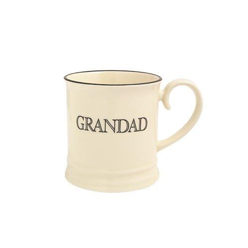 Fairmont and Main Quips and Quotes Tankard Grandad, Cream
