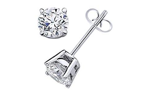 0.5 Ct Diamond Earrings - 2