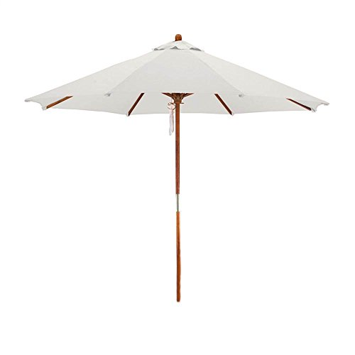 Phat Tommy Deluxe Market Umbrella in Off-White