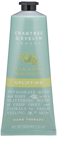 (Crabtree & Evelyn Pear & Pink Magnolia Uplifting Hand Therapy - 3.38 Fl Oz)