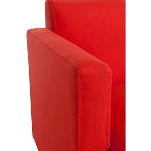 Prix Rouge 75cm Paris en nat Polyester Fauteuil Design rdChtsQ