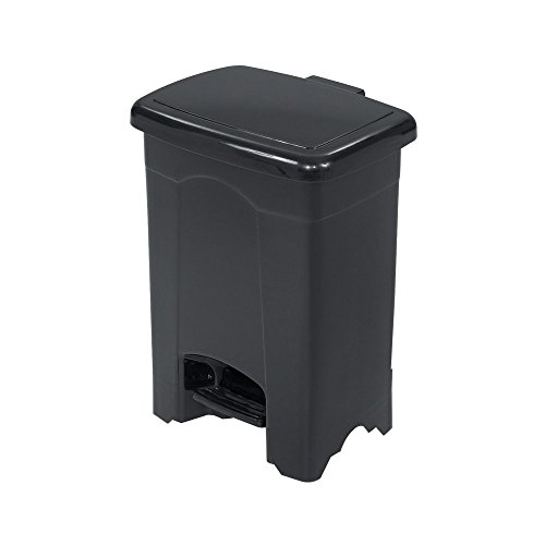 Four Gallon Plastic Step - Safco 4 Gallon Plastic Step-On Receptacle