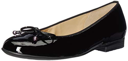 ARA Women's Scout Shoe, Black Softlack, 6 M UK (8.5 US)