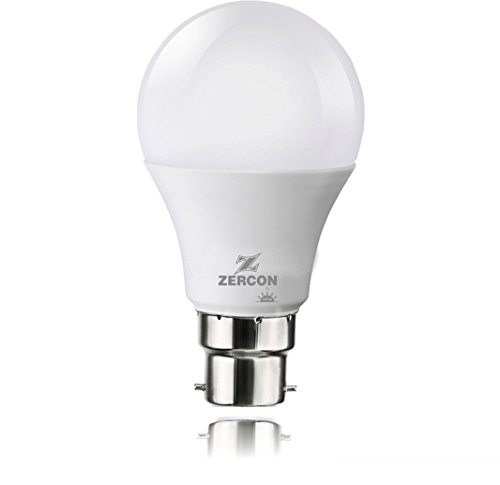 Zercon Base B22 5-Watt LED Bulb (Cool Day Light)