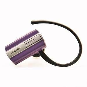 Mini Wireless Bluetooth Earpieces/ Headset/ Headphones for LG G4/ G3/ G Pro 2/ G2/ G Flex/ G Flex 2 (Purple) + MYNETDEALS Stylus
