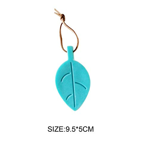 Kreative bl/ätter form t/ürstopper schubladen schrank sicherheitsverriegelung klemme silikon finger klemmschutz kinder sicherheitsschutz blau