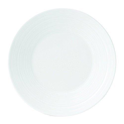 (Wedgwood Bone China Bread & Butter Plate Swirl, 7, White by Wedgwood)