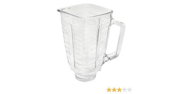 Frasco de repuesto para licuadora de Oster & Osterizer de 5 tazas: Amazon.es: Hogar