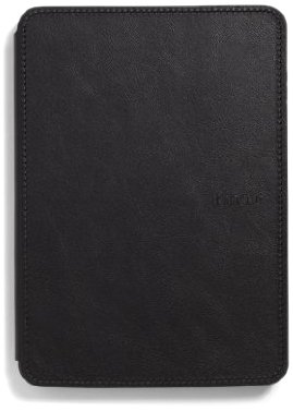 (Amazon Kindle Touch Leather Cover, Black (does not fit Kindle Paperwhite))
