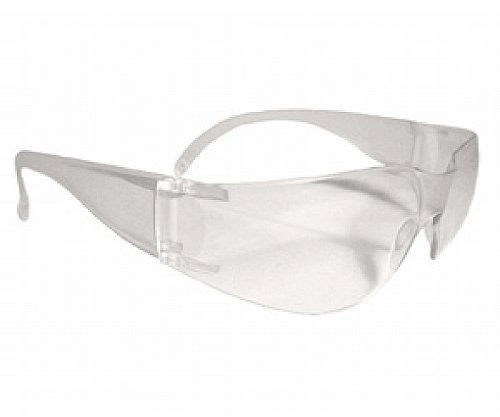 Safety Glasses Mirage USA Clear Frame and Lens, Order of 12 by Radians
