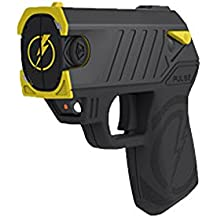 Pulse Taser with 2 Cartridges, LED Laser with/2 Cartridges, Holster and Target,Black