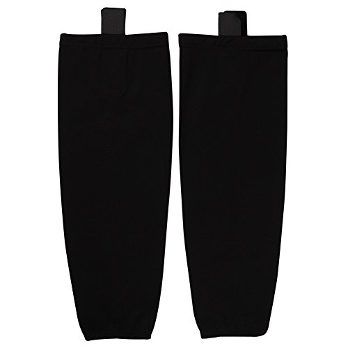 COLDINDOOR Black Hockey Socks, Youth Boy Premium Junior Ice Hockey Socks Dry Fit XS