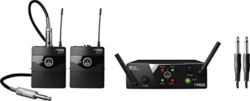 AKG WMS40 Mini2 Instrument Wireless Microphone System US25CD (Akg Instrument Set)