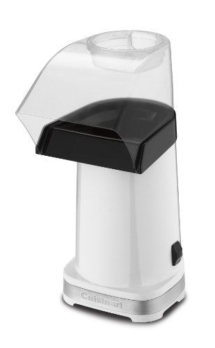Cuisinart Cpm 100W Easypop Hot Air Popcorn Maker  White