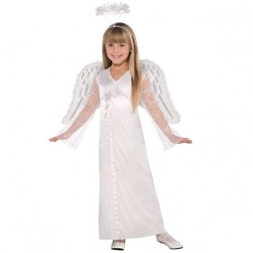 [Children's Heavenly Angel Costume Size Large (12-14)] (Childrens Angel Costumes)