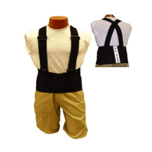 Elk River 40003 Back-EZE Polyester Safety Belt with Suspenders, Large, Black by Elk River
