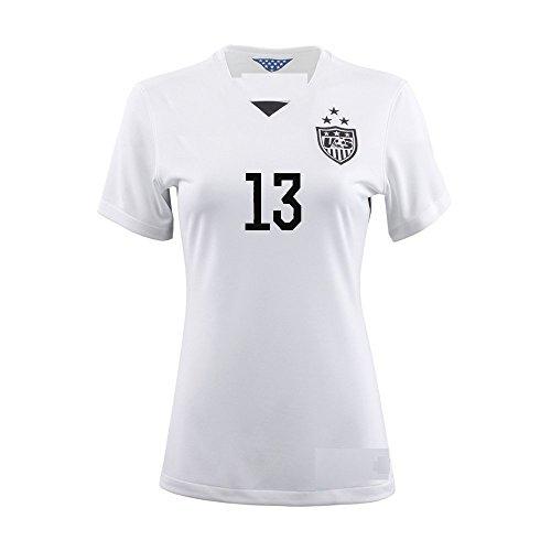 a57b068edab6a 13 Alex MORGAN USA (Girls) Home 2015-16 World Cup Soccer Kid Jersey ...