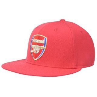 Nike Flat Brim Arsenal Fitted Cap Hat Size 7 56 CM 465012 631   Amazon.co.uk  Sports   Outdoors 5d4a82532bf