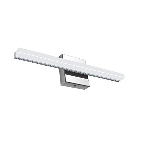 Vanity Light LED Acrylic Rectangle Tube Cool White 6000K for Bathroom/Bedroom YHTlaeh Vanity Light(9W,15.9inches)