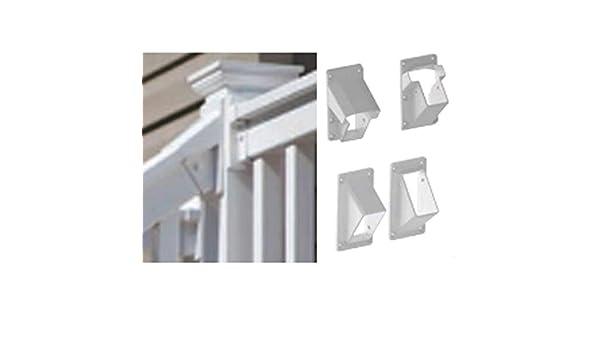 SNAVELY INTL TFSWHTR0805 Stair Bracket Kit Fl