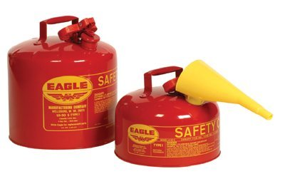 Eagle Safety Gas Can 5 Gal Meets Osha & Nfpa Code 30, used for sale  Delivered anywhere in USA