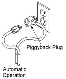 10 ft piggyback float switch cable, septic system, sump pump, wiring, septic tank float switch wiring
