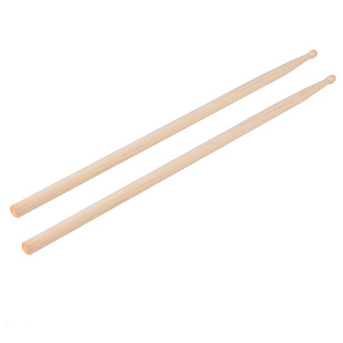 Maple Wood Drumsticks Stick 5A for Drum Drums Set Lightweight Professional 1 Pair by (Zildjian Travis Barker Stick)