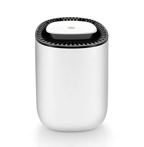 Mini Air Dehumidifier, Auto Shut-Off, Ultra Quiet Dehumidifier With LED Indicator, Portable Dehumidifier For Small Spaces, Closets, Small Bedroom, Office by LJQ