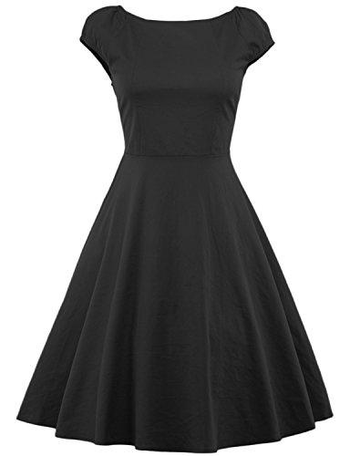 Buy black 40s dress - 6