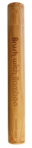 Bamboo Toothbrush Travel Case - Adult
