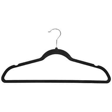 AmazonBasics Velvet Suit Hangers - (Pack of 50)