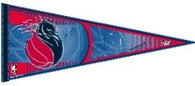 NBA Detroit Pistons WCR63833112 Carded Classic Pennant, 12'' x 30'' by WinCraft