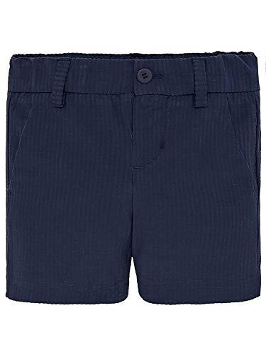 Mayoral 29-01242-002 - Seersucker Bermuda Shorts for Baby-Boys 9 Months - Seersucker Bermuda
