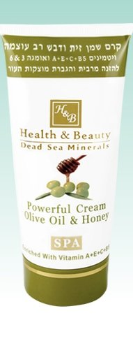 (Powerful Cream Olive Oil and Honey)