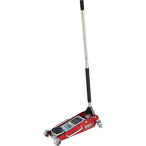 Strongway Hydraulic Aluminum/Steel Quick Lift Service Jack - 2 1/2-Ton Capacity, 3 15/16in.-18 1/8in. Lifting Range by Strongway (Image #3)